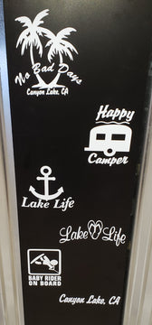 Canyon Lake Stickers