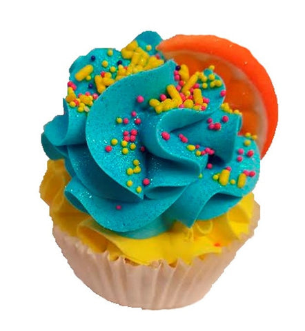 Sun Kissed Tan Cupcake Bath Bomb