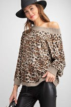 Off The Shoulder Leopard