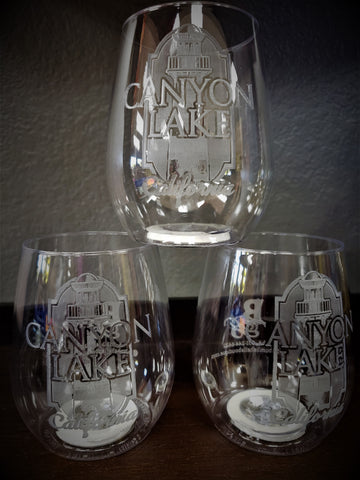 CUSTOM WINE CUPS