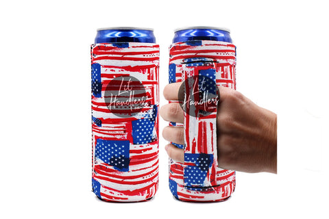 Old Glory  Slim Can Handler