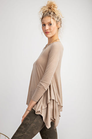 Welcoming Fall Long sleeves knit