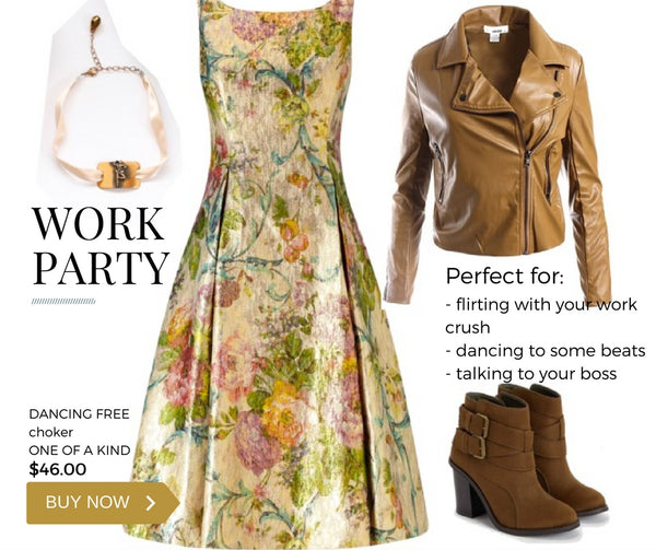 what to wear to your work party this holiday/christmas year?