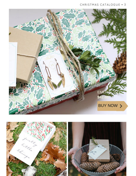 4christmas catalogue by hattitude jewels vintage repurposed jewellery handmade in toronto