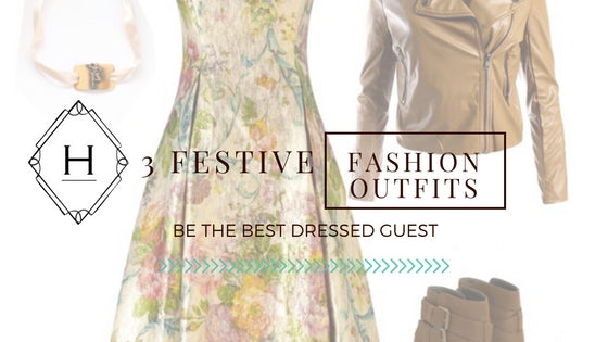 3 festive fashion outfits to be the best guest this holiday christmas season