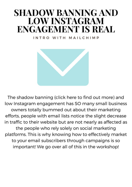 shadow banning and low engagement on instagram