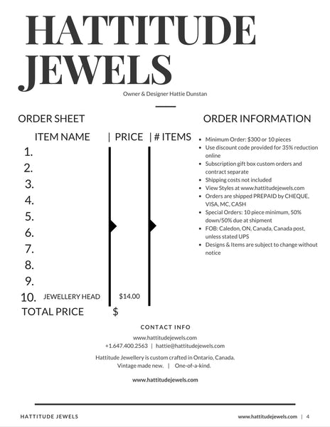 custom crafted jewellery in toronto price line sheet wholesale