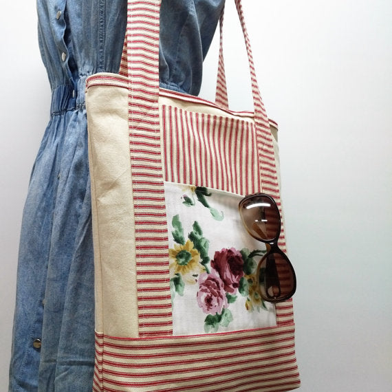 floral tote bag 5 great gift ideas for the flower/gardner/florist lover in your life