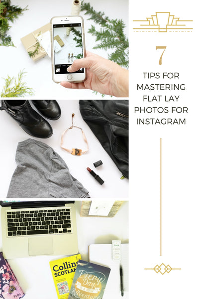 7 tips for mastering flat lay photos for instagram social media