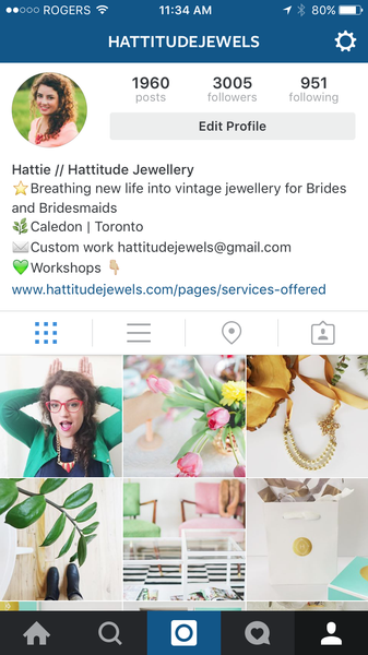 hattitude jewellery instagram feed