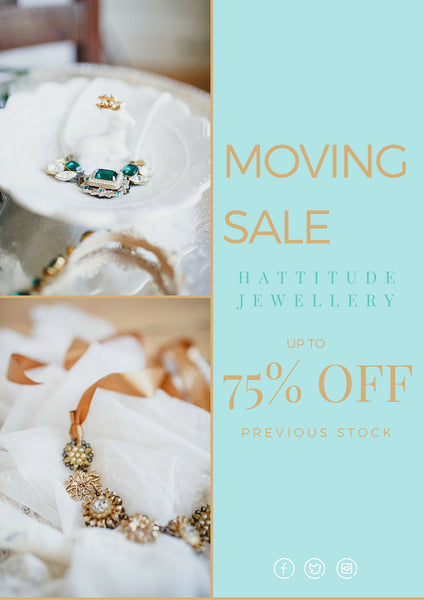 studio indie bridal jewellery sale 75% off in caledon toronto canada