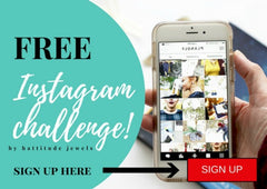 free content and instagram ideas for the instagram challenge by hattitude jewels