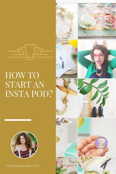 how to start an instagram pod to beat the algorithm