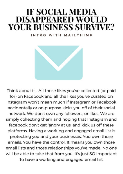 If social media disappeared would your small business still survive?