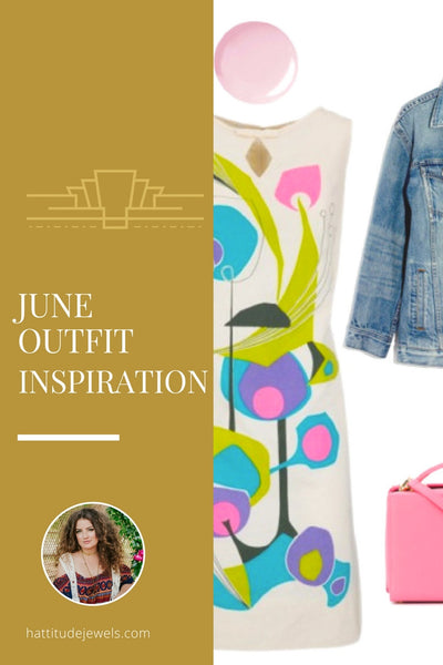 june outfit inspiration styled with hattitude jewellery accessories handmade in toronto