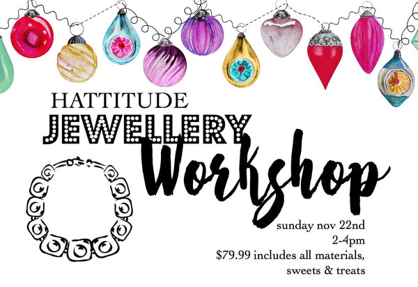 hattitude jewellery workshop toronto