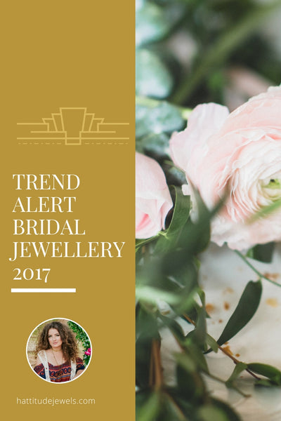 trends for 2017 bridal wedding jewelry