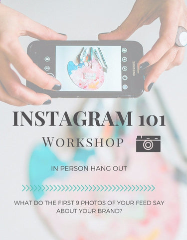 INSTAGRAM 101 marketing effectively for your small business