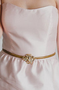 Crystal wedding sash/belt LIFE LINE