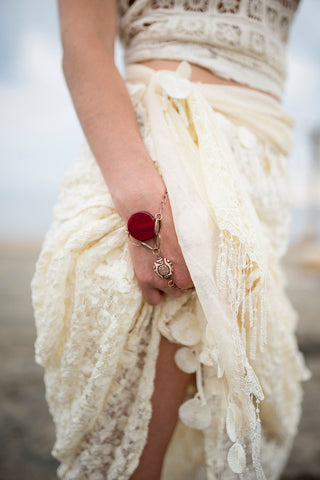 boho hand chain CAPTIVATED SOUL