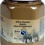 Pure South Equine Wil's Detox Mineral Supplement 720g x 2