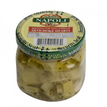 Marinated Artichoke Hearts - 6 oz glass