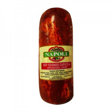 "Authentic ""Hot"" Capicola - 5 lb"