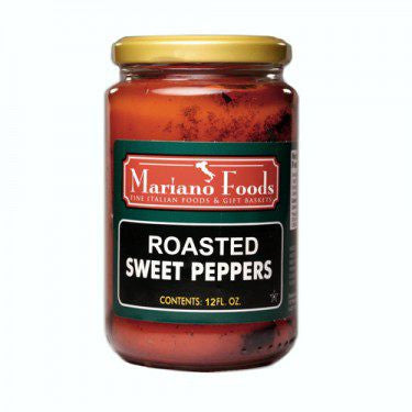 ROASTED RED PEPPERS - 12 OZ JAR