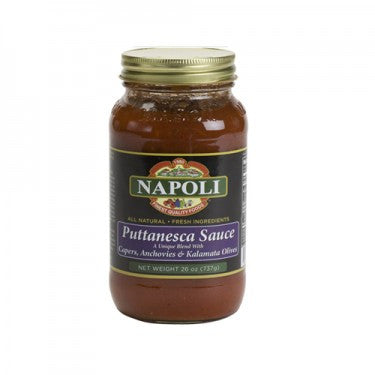PUTTANESCA SAUCE - 26OZ
