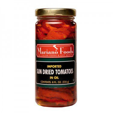 Napoli Sun Dried Tomatoes in Oil- 8 oz jar