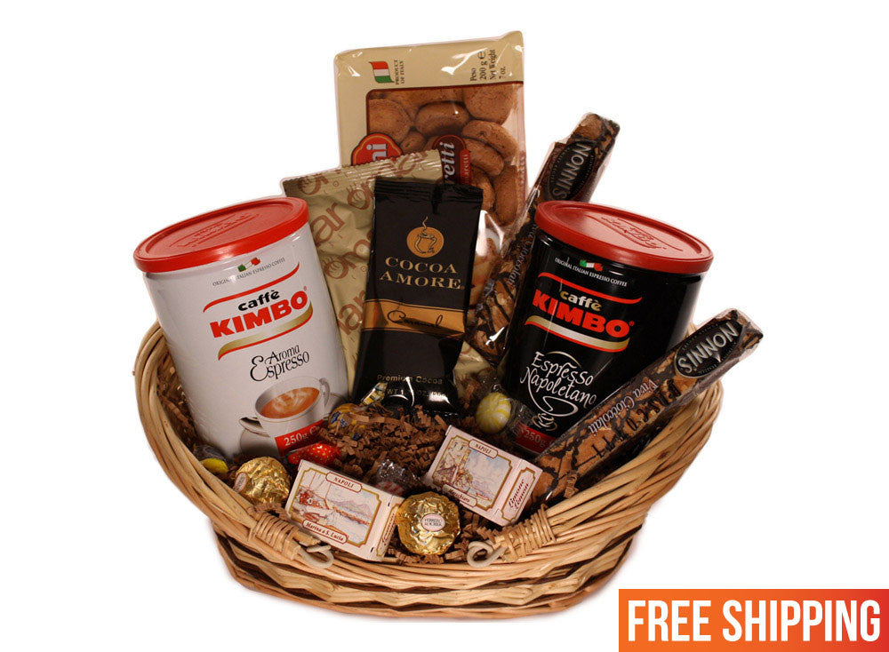 Italian Coffee Break Basket
