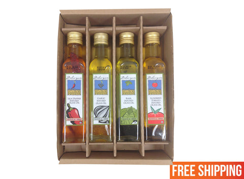 Italian Infused Olive Oil Gift Box