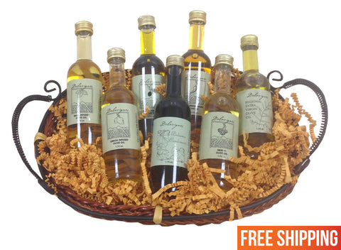Mini Olive Oil Sampler Basket