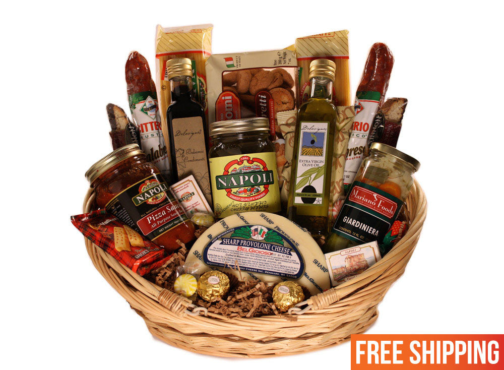 The Taste Of Tuscany Basket