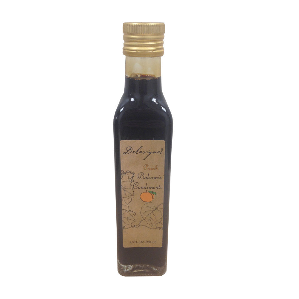 Peach Infused Balsamic Vinegar - 8.5oz