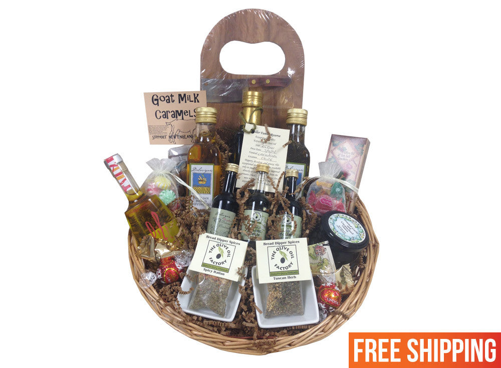 The Gourmet Foodie Basket