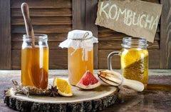 Kombucha Tea Making
