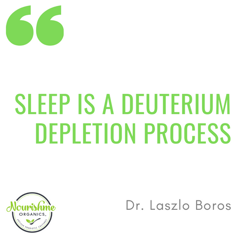 Sleep is a deuterium depletion process