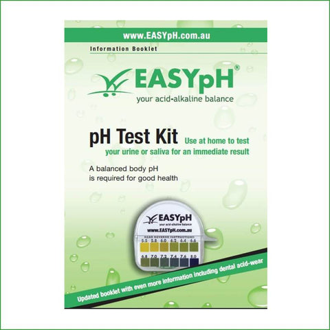 EASYpH Test Kit with Booklet
