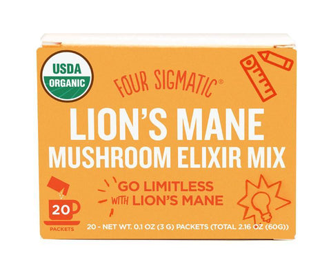 Four Sigmatic - Lion's Mane Mushroom Elixir Mix (x 20 sachets) (3g)