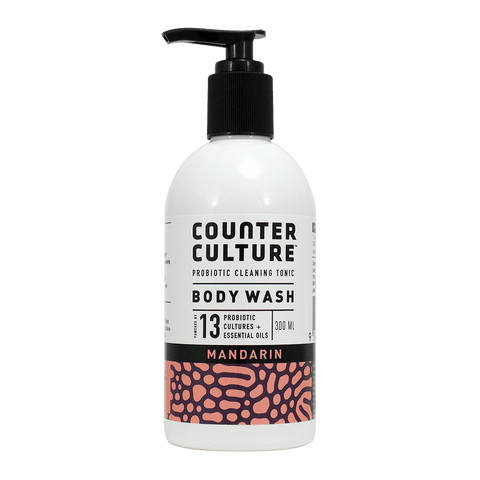 Counter Culture Mandarin Probiotic Body Wash - 300ml
