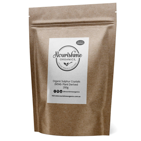 MSM | MSM Australia | What is MSM | MSM Powder- NourishmeOrganics