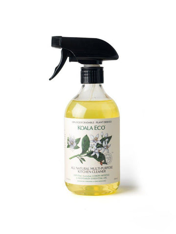 Natural Multi Purpose Kitchen Cleaner - with Australian LEMON MYRTLE Nourishmeorganics