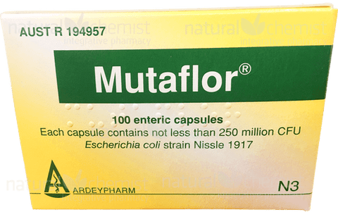 MutaFlor Probiotics 100 capsules - Express Post Only