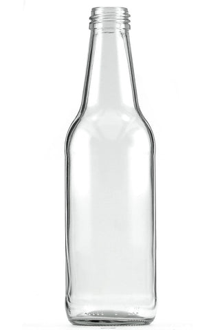Home Brew Clear Glass Beverage Bottle 330ml Nourishmeorganics