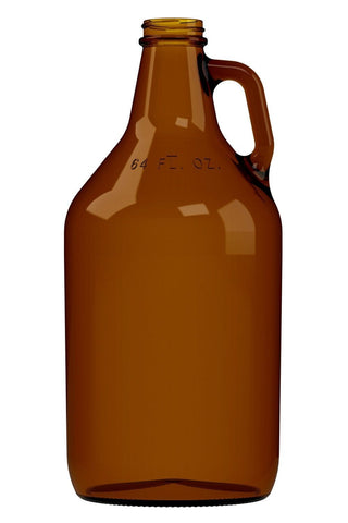 High Pressure Amber Glass Second Fermentation Bottle (2L or 946mL)