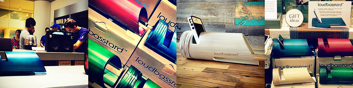 Bamboo Amplifier of Sound made in the Philippines