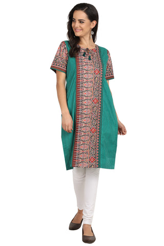 Emerald - nursing kurta with and Concealed Zippers