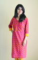 Magento - Discreet Nursing kurta with concealed zippers