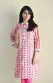 Cherry Blossom -  Printed Nursing Kurta with Concealed Zippers
